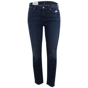 7 For All Mankind Kimmie Cropped Form Fitting Jean